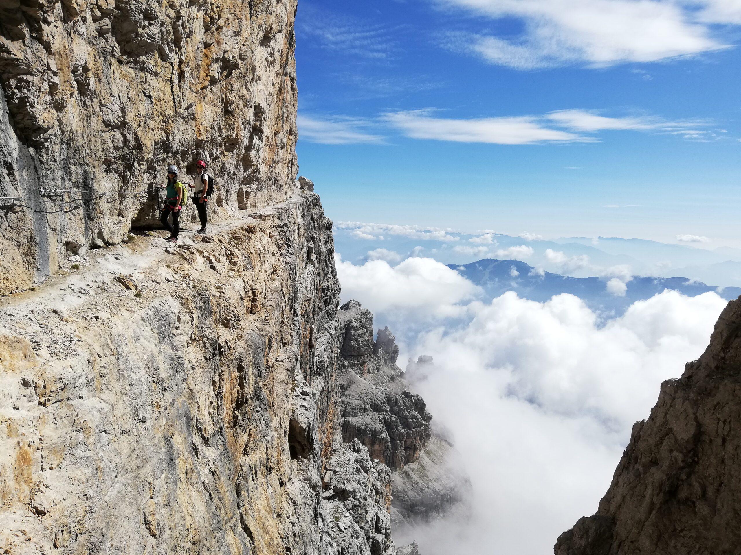 Ferrate nelle Dolomiti di Brenta – Via delle Bocchette