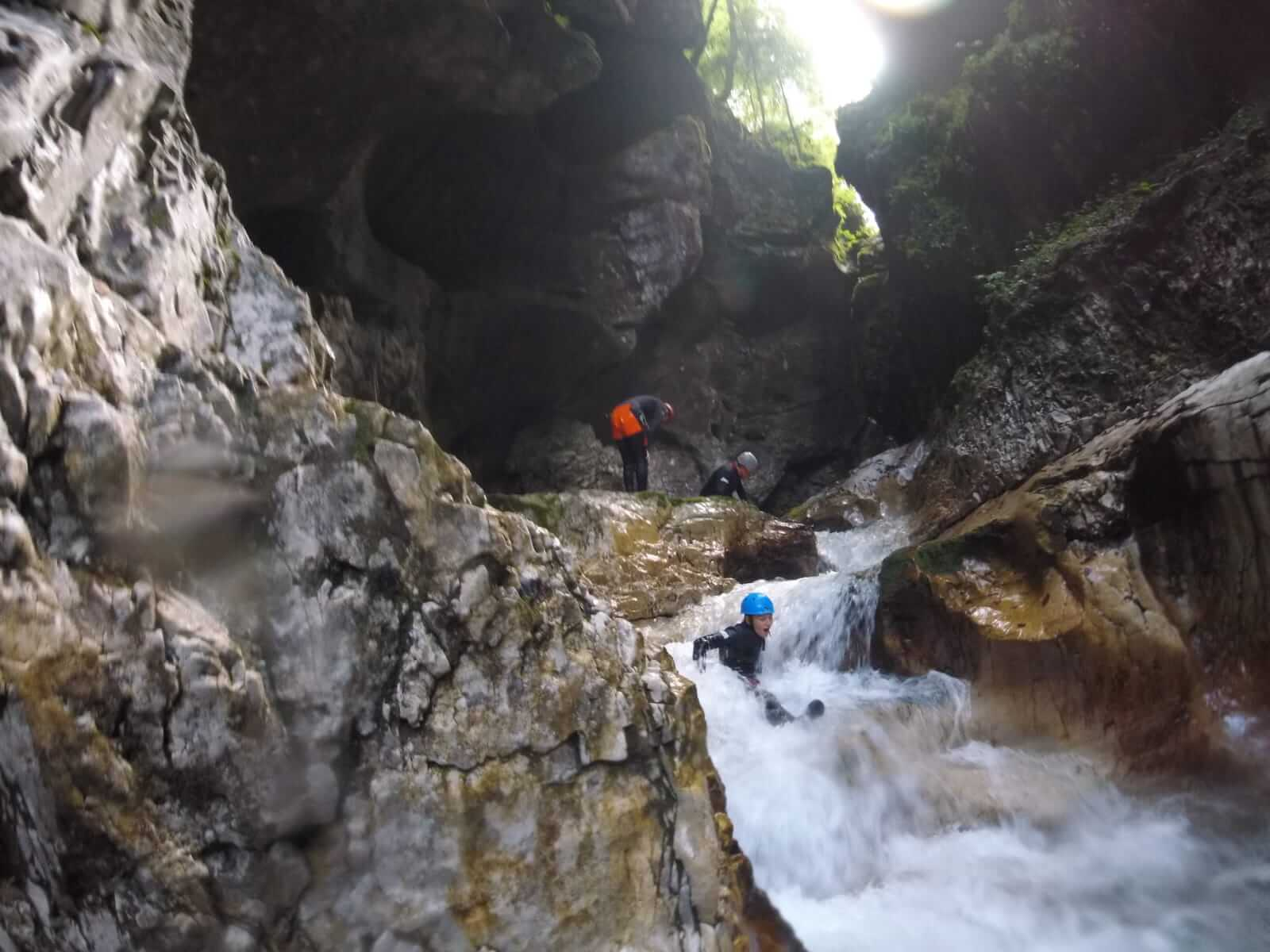 Canyoning della Forra